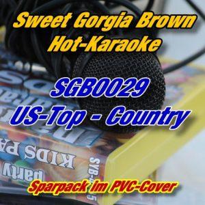 Sweet Georgia Brown Karaoke - SGB0029 - Top-Country-Hits