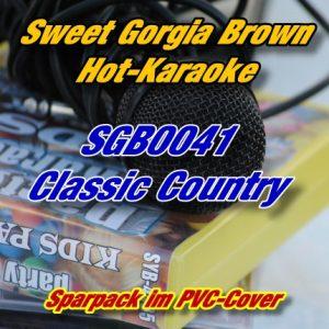 Sweet Georgia Brown Karaoke - SGB0041 - Classic Country Hits