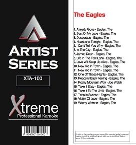 THE EAGLES - Karaoke Playbacks - XTA-100