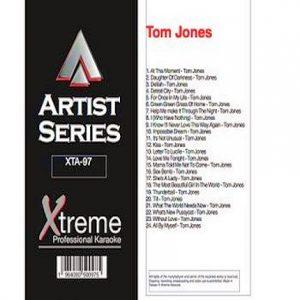 TOM JONES - Karaoke Playbacks - XTA97