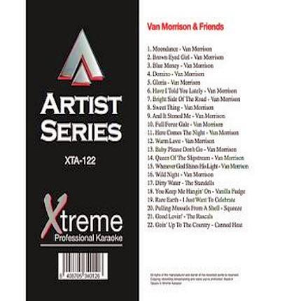 VAN MORRISON & FRIENDS - xta122 - Karaoke Playbacks - CD+G