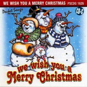 We Wish You a Merry Christmas - Karaoke Playbacks - PSCDG 1626