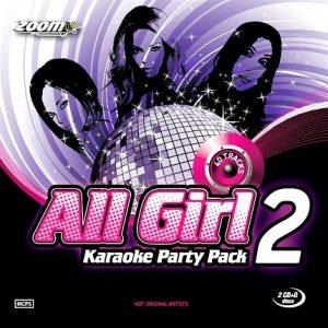 Zoom All Girl Karaoke Party Pack 2 - CD+G -