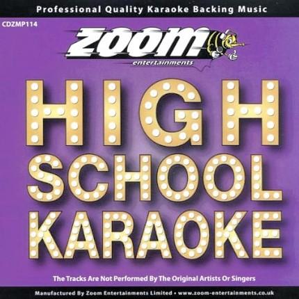 Zoom Karaoke CD+G - Platinum Artists 114 - High School Musical - Front