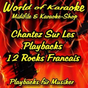 12 Rocks Francais – Karaoke Audio Playbacks