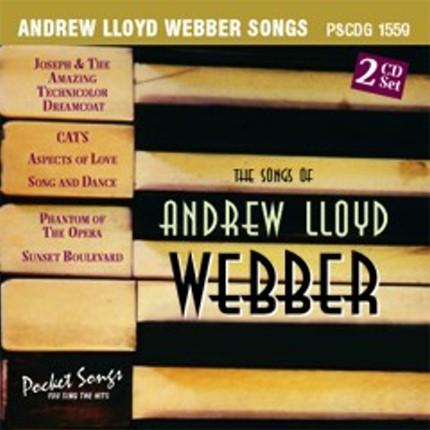 ANDREW LLOYD WEBBER - KARAOKE PLAYBACKS - PSCDG 1559