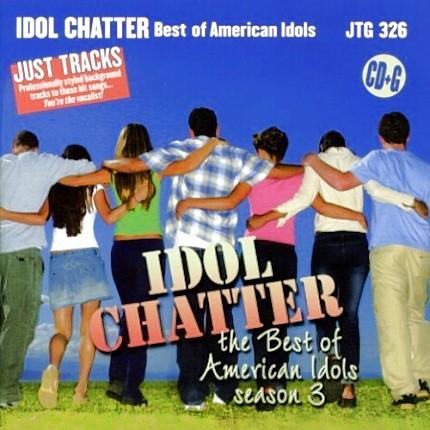 Best of American Idols - Season 3 - Karaoke Playbacks - CD-Front