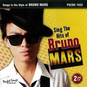 Bruno Mars - Karaoke Playbacks - PSCD 1652 - CD-Front