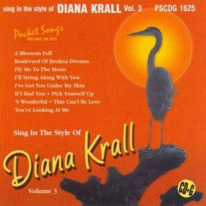Diana Krall - Vol. 3 - Karaoke Playbacks - PSCDG 1625