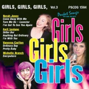 Girls, Girls, Girls - Karaoke Playbacks - PSCDG 1594 - Volume 3