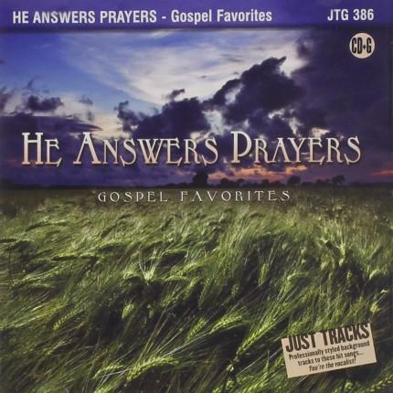 He Answer Prayers - Karaoke Playbacks - JTG 386 - CD-Front