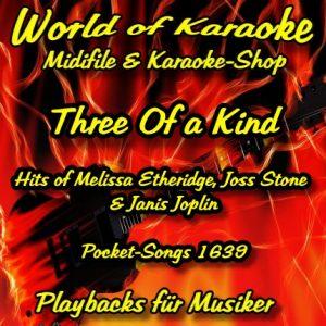 Hits of Melissa Etheridge, Joss Stone & Janis Joplin - Karaoke Playbacks