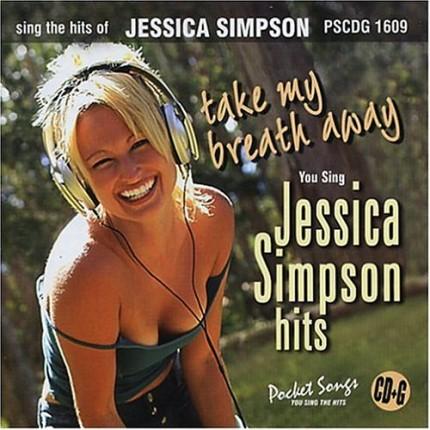 Jessica Simpson - Take My Breath - Karaoke Playbacks - PSCDG 1609 - CD-Front