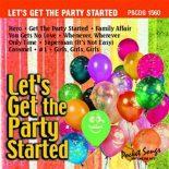 Let's Get The Party Started - Karaoke Playbacks - PSCDG 1560