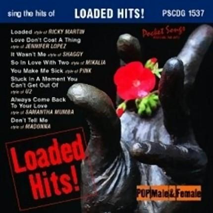Loaded Hits - Karaoke Playbacks - PSCDG 1537 - CD-Front