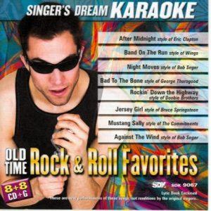 Old Time Rock & Roll Favorites - Karaoke Playbacks - CDG - CD-Front