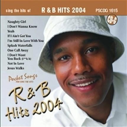 R & B Hits - Karaoke Playbacks - PSCDG 1615 - CD-Front