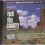 Rock This Country - Karaoke Playbacks - PSCDG 1480