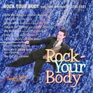 Rock Your Body - Pop Karaoke Playbacks - PSCDG 1601 - CD-Front