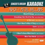 Rock and Metal Ballads - Karaoke Playbacks - SDK 9033 - RARITÄT