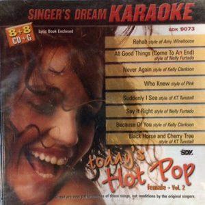 Today´s Hot Pop Female Volume 2 – Karaoke Playbacks