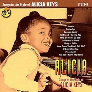Songs in the Style of Alicia Keys - Karaoke Playbacks - JTG 341