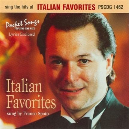 The Hits Of Italian Favorites - Karaoke Playbacks - PSCDG 1462 - CD-Front