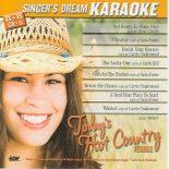 Today's Hot Country Female CD+G Karaoke Playbacks - SDK 9057