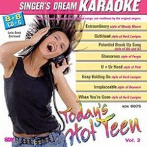 Today's Hot Teen - Vol. 2 - Karaoke Playbacks - CD+G