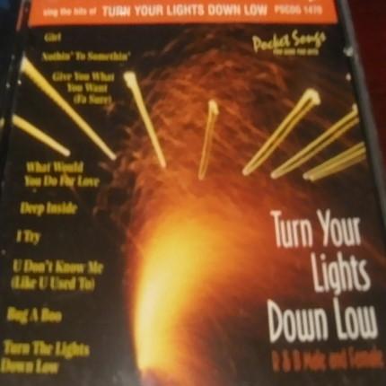 Turn Your Lights Down Low – Karaoke Playbacks – PSCDG 1470 - CD-Front