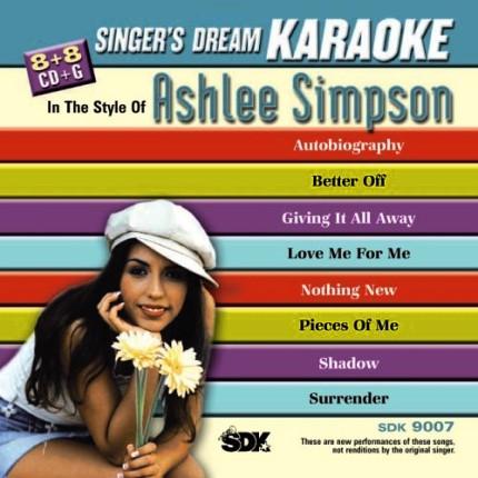 Ashlee Simpson - Karaoke Playbacks - SDK 9007