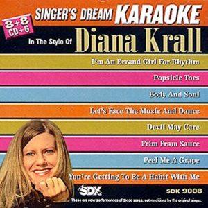 Best Of Diana Krall - SDK 9008 - Karaoke Playbacks - CD-Front