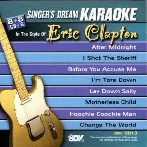 Best Of Eric Clapton – Karaoke Playbacks – SDK 9013