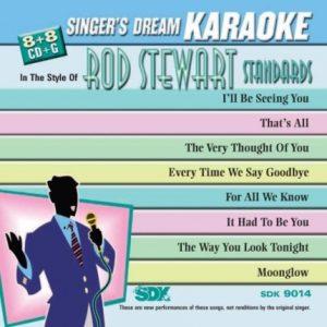 Best Of Stewart Standard - Karaoke Playbacks - SDK 9014 - CD-Front