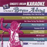 Bryan Adams - Karaoke Playbacks - SDK 9019 (Schnäppchen-Ausgabe)