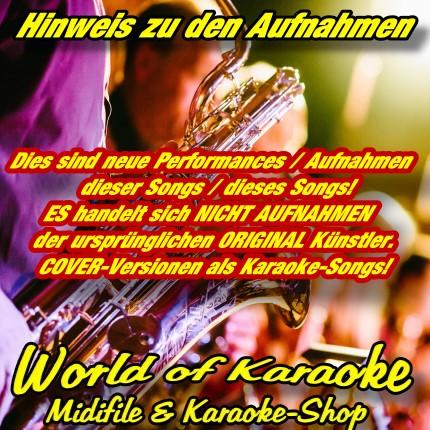 Coverversionen-Hinweis - World Of Karaoke - Playback Kaufen - Karaoke-Helden