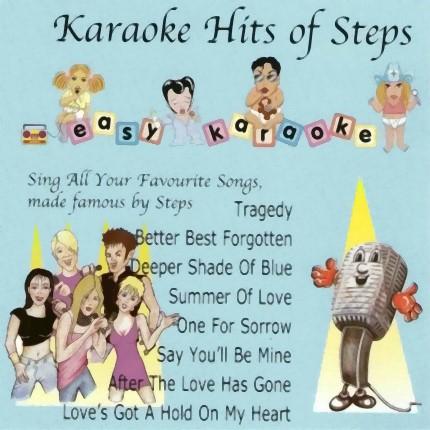Easy-Karaoke - Hits of Steps Vol.1 - Karaoke Playbacks - EZP08