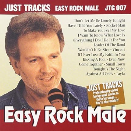 Easy Rock Male - JTG 007 - Karaoke Playbacks - CD-Front