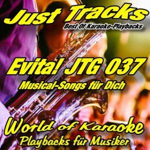Evita - Karaoke Playbacks vom Musical - JTG 037 - Cover