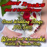 GREAT WEDDING SONGS -  JTG 160 – Karaoke Playbacks