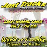 GREAT WEDDING SONGS -  VOL.2 - JTG 036 – Karaoke Playbacks