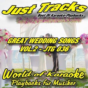 GREAT WEDDING SONGS - VOL.2 JTG 036 – Karaoke Playbacks
