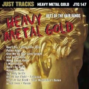 Heavy Metal Gold - Karaoke Playbacks - JTG 147 - CD-Front