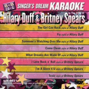 Hilary Duff und Britney Spears - Karaoke Playbacks - SDK 9021