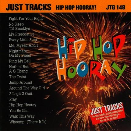 Hip Hop Horray! Karaoke Playbacks - JTG 148 - CD-Front