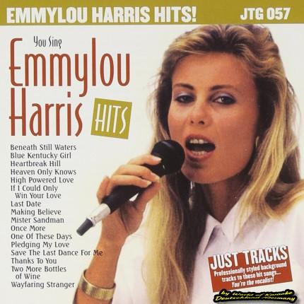 JTG-057 Emmylou Harris - Karaoke Playbacks - Front-CD