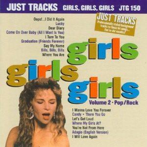 JTG150 – GIRLS GIRLS GIRLS VOL.2 - Karaoke Playbacks - CD-Front