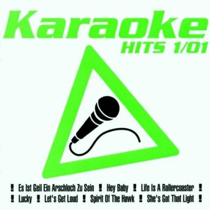 Karaoke Hits 1-01 – Audio Karaoke Playbacks - CD-Front