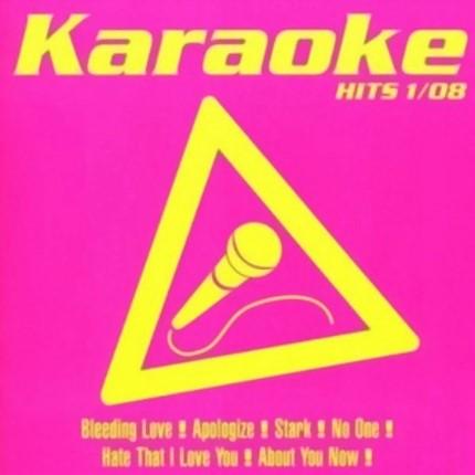 Karaoke Hits 1-08 - Audio Karaoke Playbacks - CD-Front