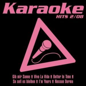 Karaoke Hits 2-08 - Audio Playbacks - CD-Front